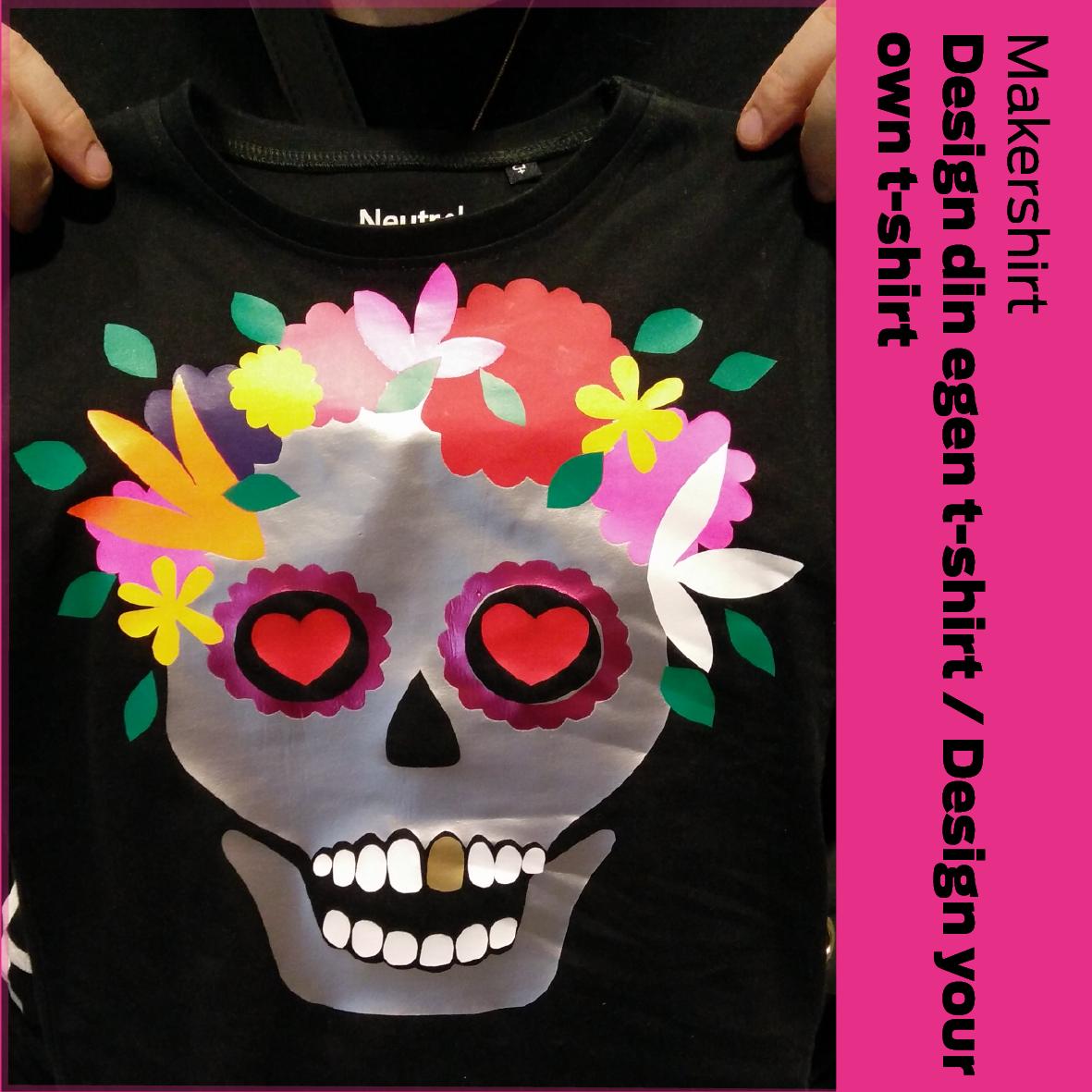 Makershirt (DK): Design din egen t-shirt / Design your own T-shirt