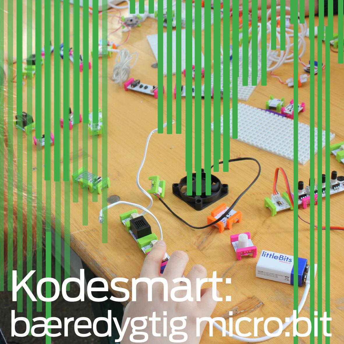 Kodesmart: Bæredygtig micro:bit
