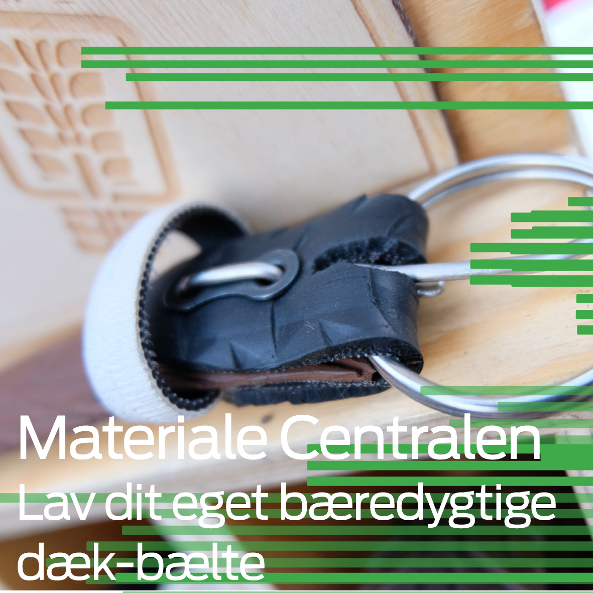 Materiale Centralen: Make a sustainable bike tire belt