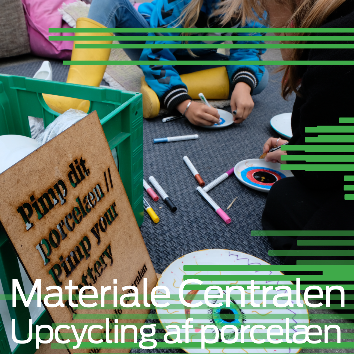 Materiale Centralen: Porcelain Upcycling