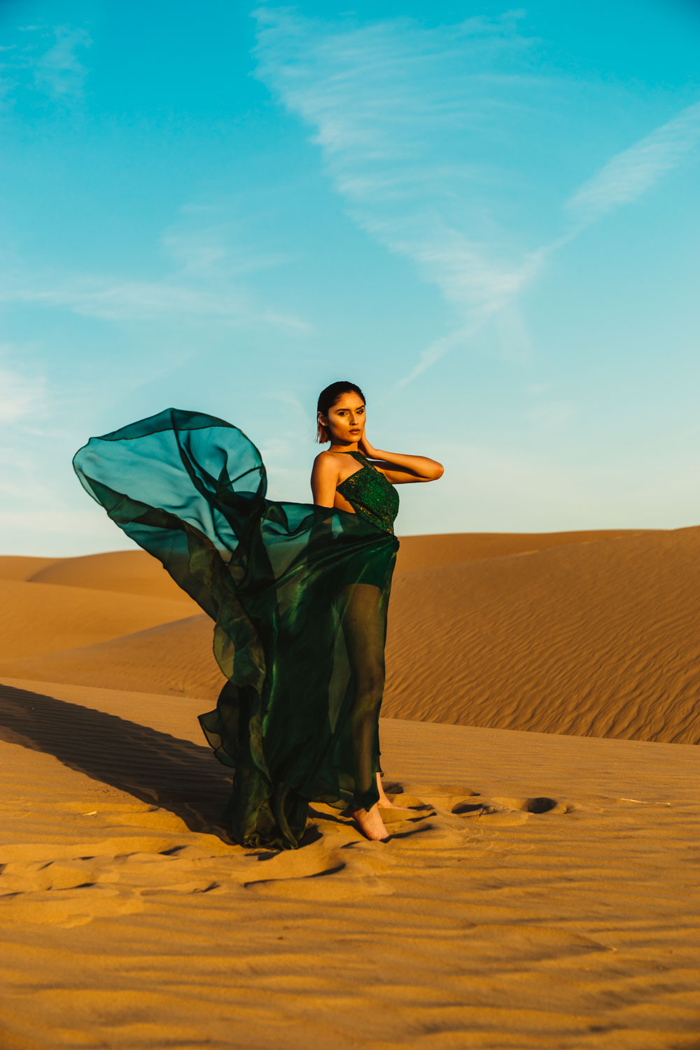 Glamis Sand Dunes Photoshoot Shoot by Jas Gold Jason Goldsmith Modeled by Steph Rosa