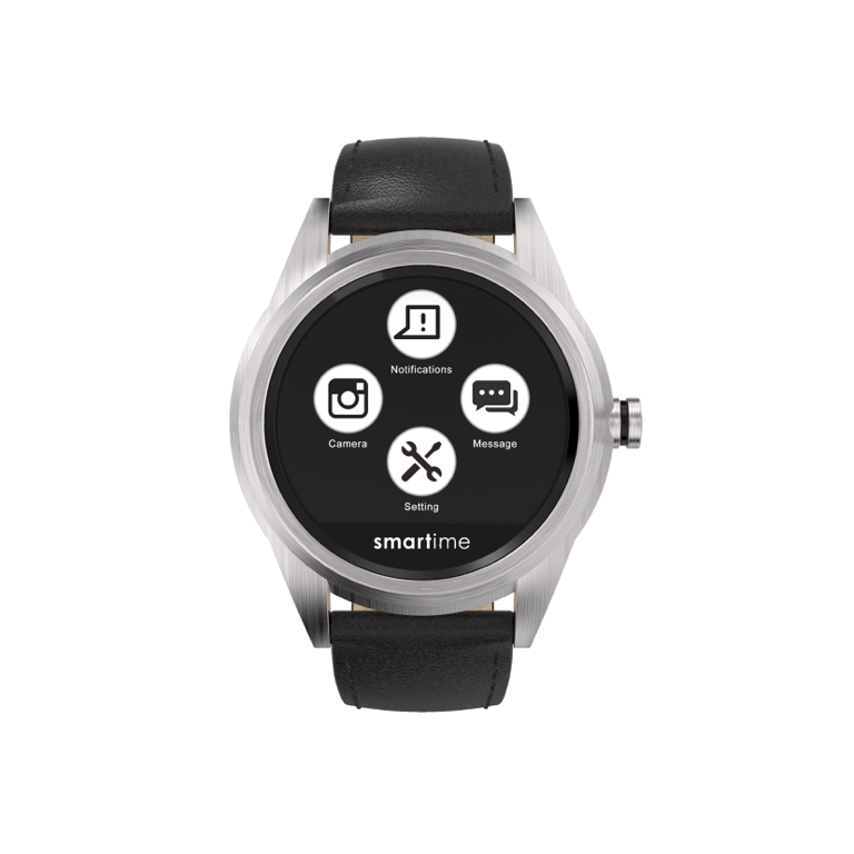Full digital watch with TOUCHSCREEN display