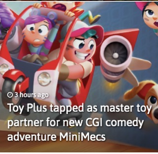 Let's play! Giddy with excitement to have ToyPlus onboard as our master toy partner! #ferlyofficial #ferly #minimecs #apckids #toys #licensing #animation #entertainment