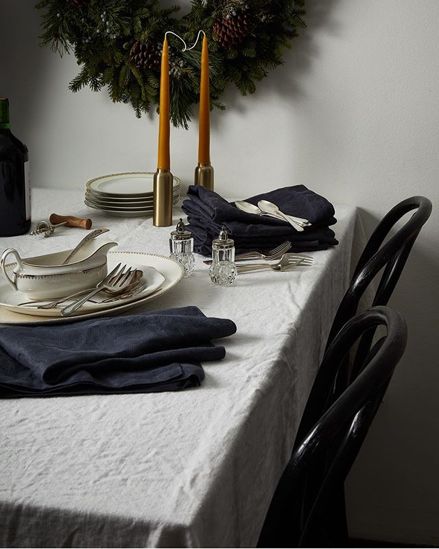 Our founder, @kiracorbin's holiday webshop continues! Vintage linens, serving pieces, beeswax candles... whether for entertaining, gifting, or the prop closet there are so many beauties to be had! Link in her profile. Last day of sale is tomorrow!