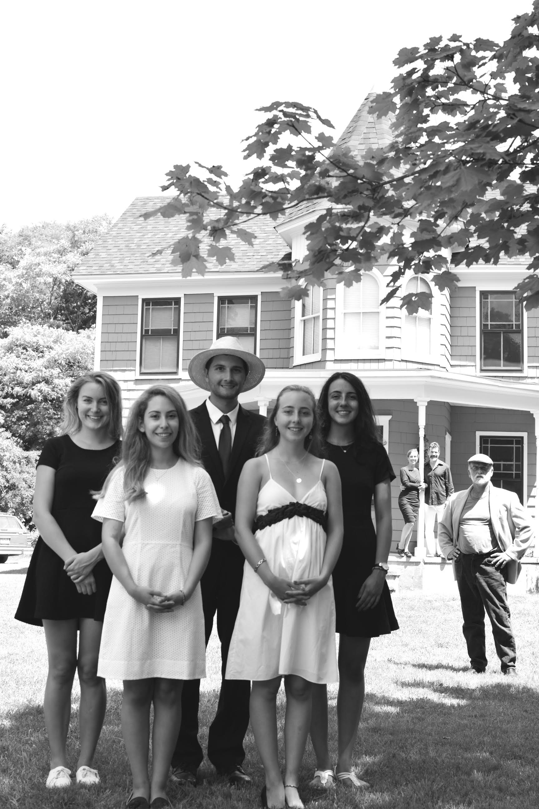 Seneca, Glori, RJ, Mia, Sarah, Anne, Marc, Richard  ECI Foster House Pioneers, Summer 2016
