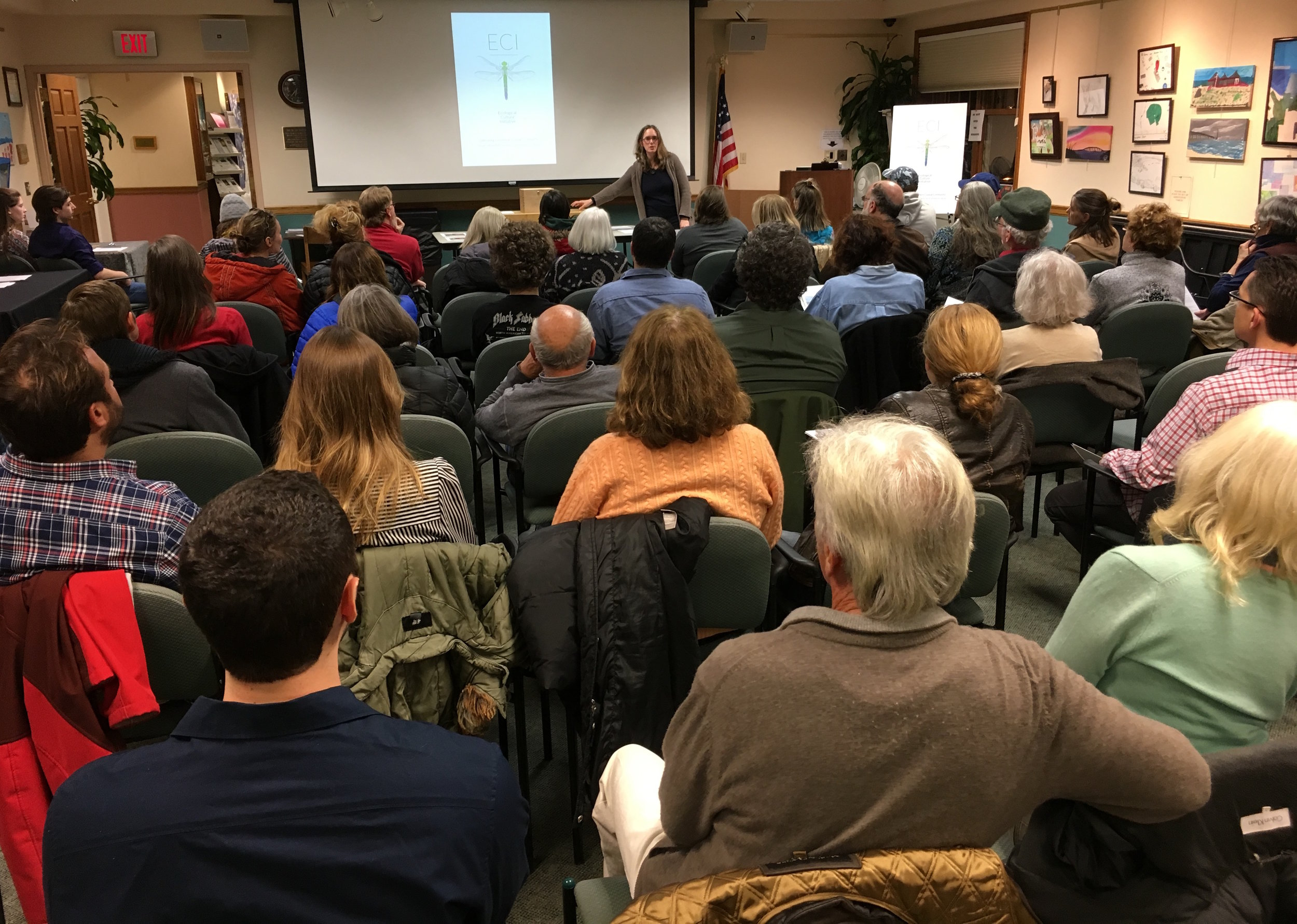 Good Ground Seed Library unveiling - March 8th, 2017
