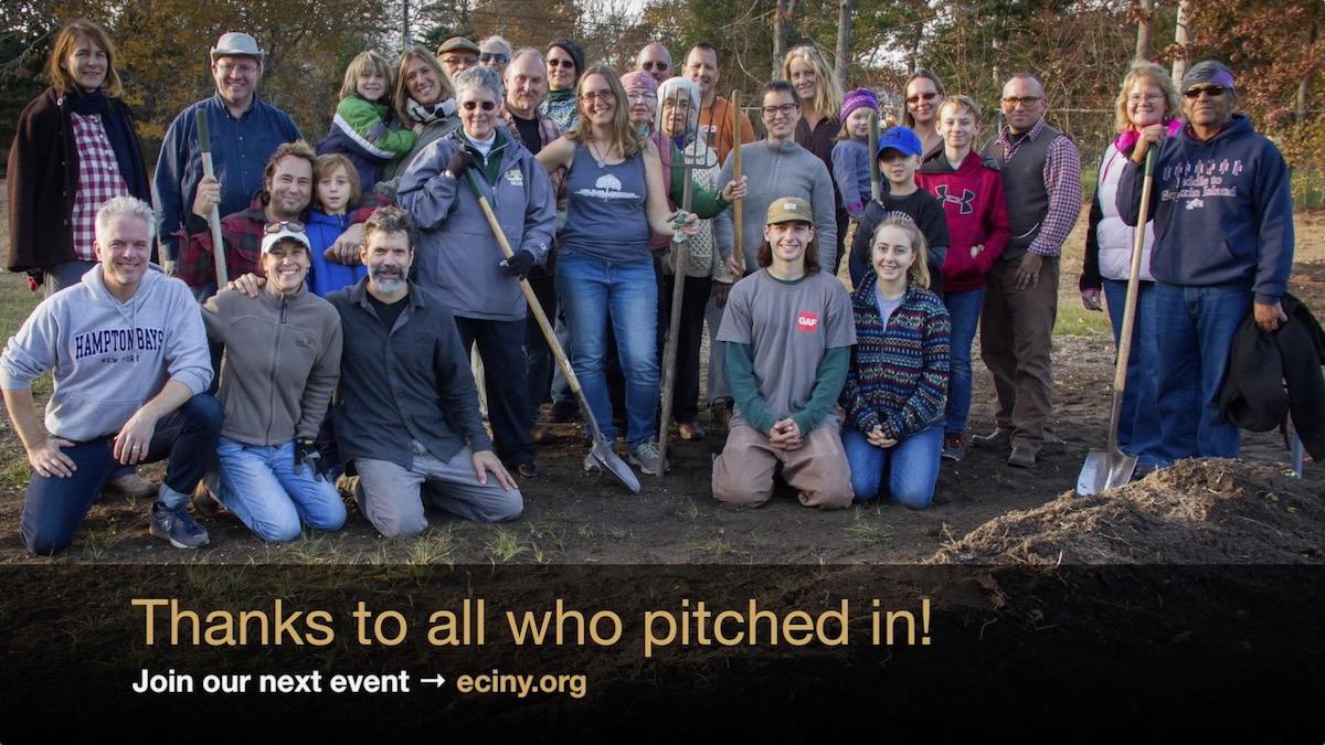 ECI Heritage Gardens groundbreaking - Nov. 25, 2017
