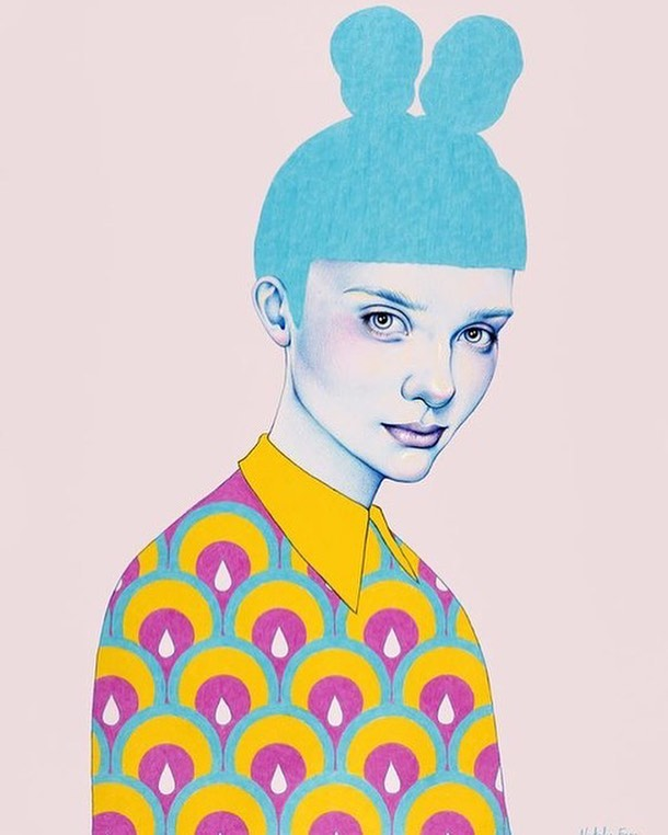 #drawarcana fashion illustration contest! Submit your original illustration of your favorite Arcana New York look to arianna@arcananyc.com for a chance to be featured on our feed!  Fantastic #fashionillustration by Natalie Foss 🌈✨