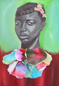 Jamea Richmond-Edwards Unforsaken, 2010, 18x24 on canva