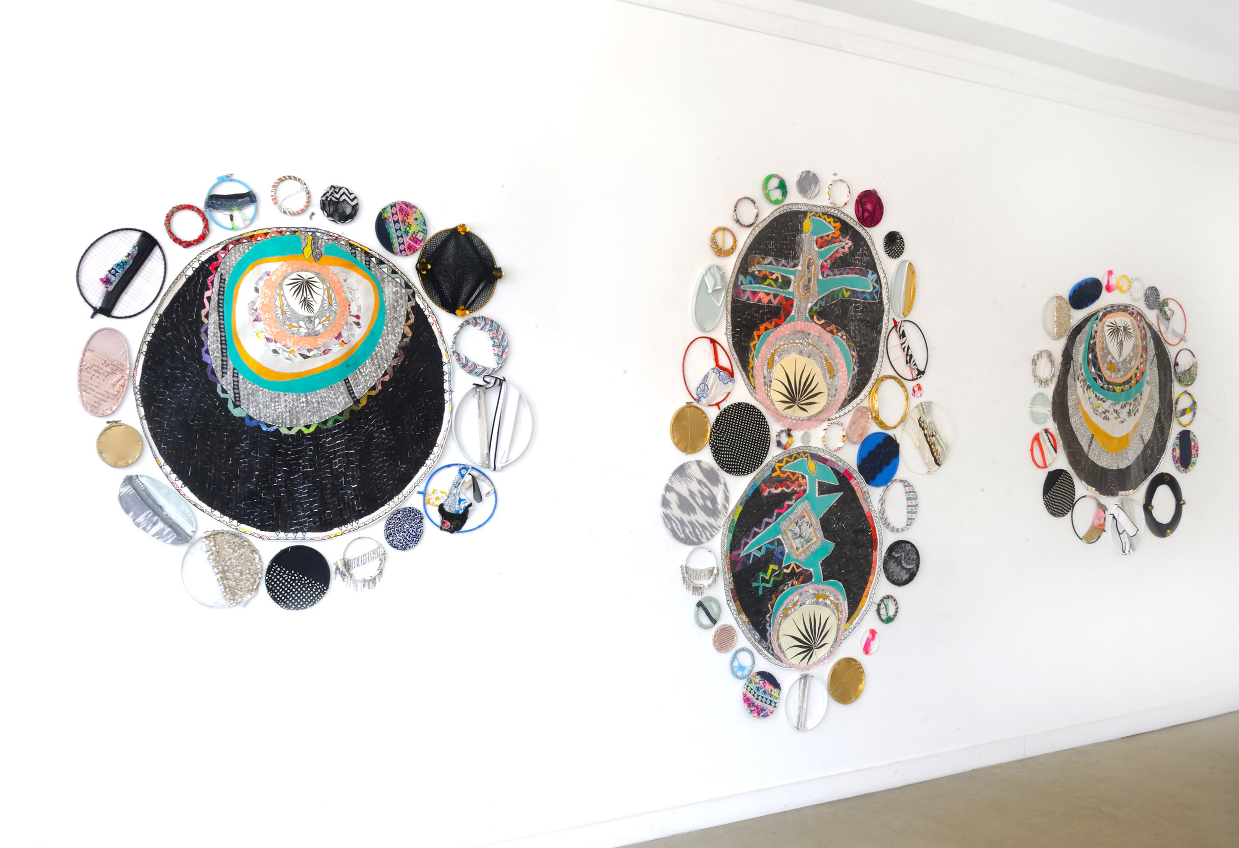 Third Eye Open, Kepler 19 b, c and Orbits, Installation, 2018, Morton Fine Art