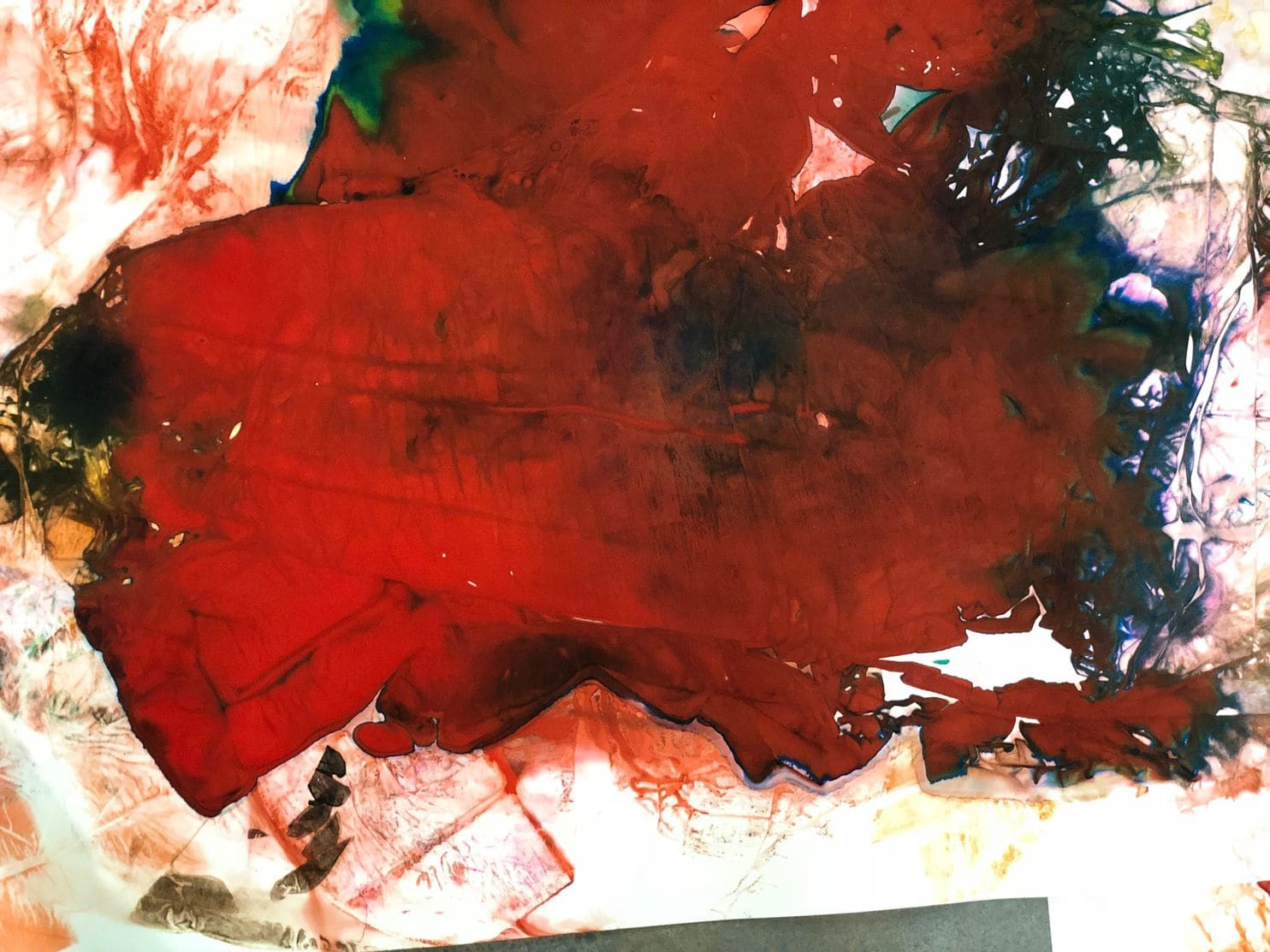 "Maya Freelon's ""Bubble 2,"" on view at Morton Fine Art. (Maya Freelon/Morton Fine Art)"