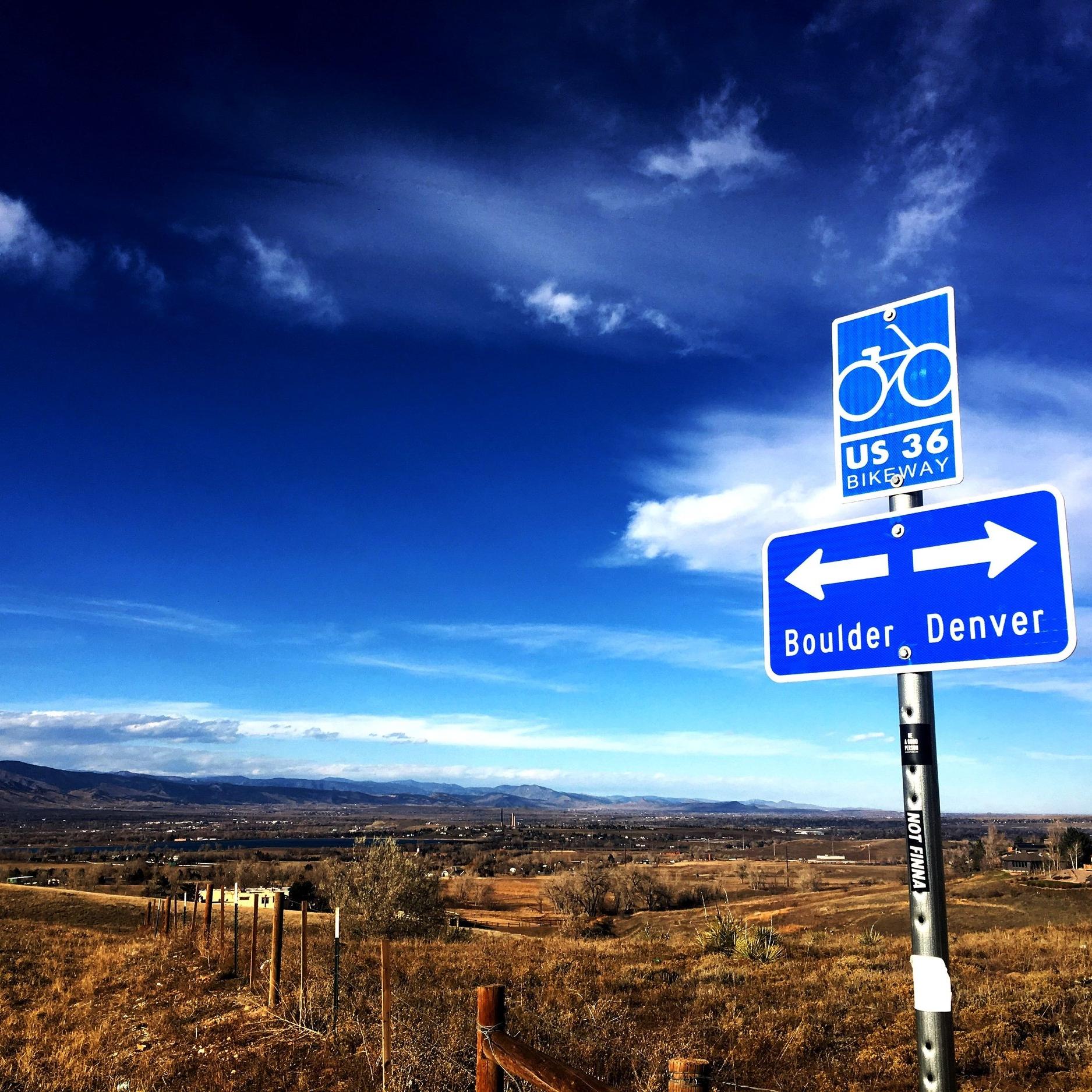US 36 Bikeway Map