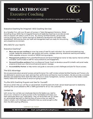 Breakthrough Executive Coaching CLICK TO OPEN