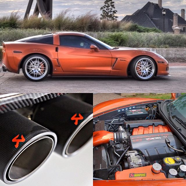 #Corvette #z06 #boosted #boostedcars #boostedlife #twinturbo #akrapovic #akrapovicexhaust