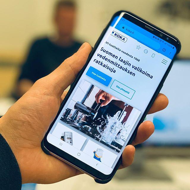 Suunnittelimme ja toteutimme Suomen laajimman valikoiman vedenmittauksen ratkaisuja tarjoavan Koka Oy:n uuden verkkosivuston. #käyttöliittymäsuunnittelu #digitaldesign #webdesign #mobilefirst #mobiiliensin #digimogulityöt #digimoguliweb #wordpressdeveloper #webkehitys