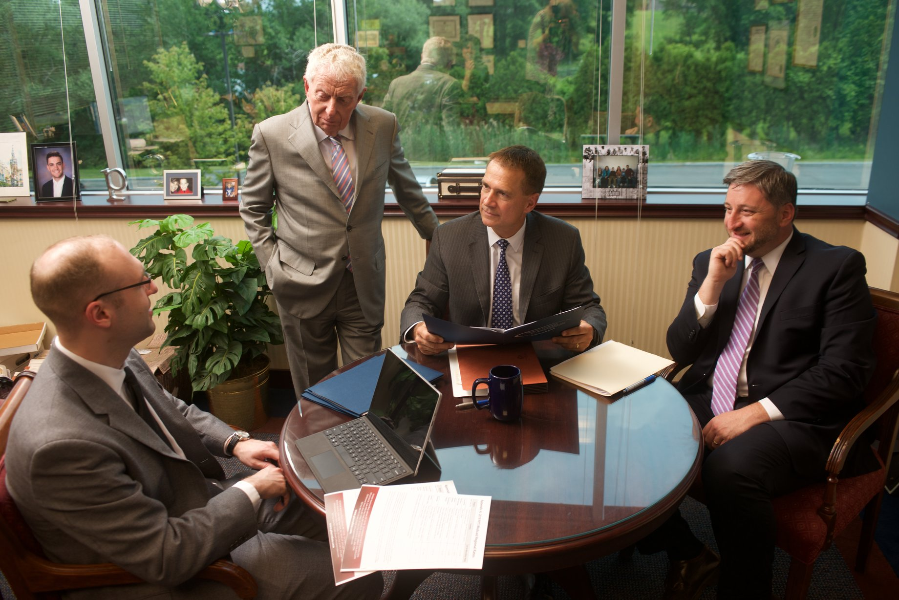 The Medicaid Planning Team:  Frank Hemming, Esq. ,  Peter Strauss, Esq. ,  Louis Pierro, Esq ., and  Aaron Connor, Esq.
