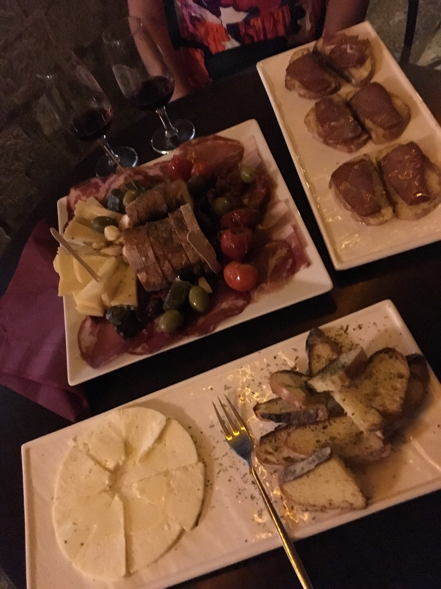 Spread at D'vino