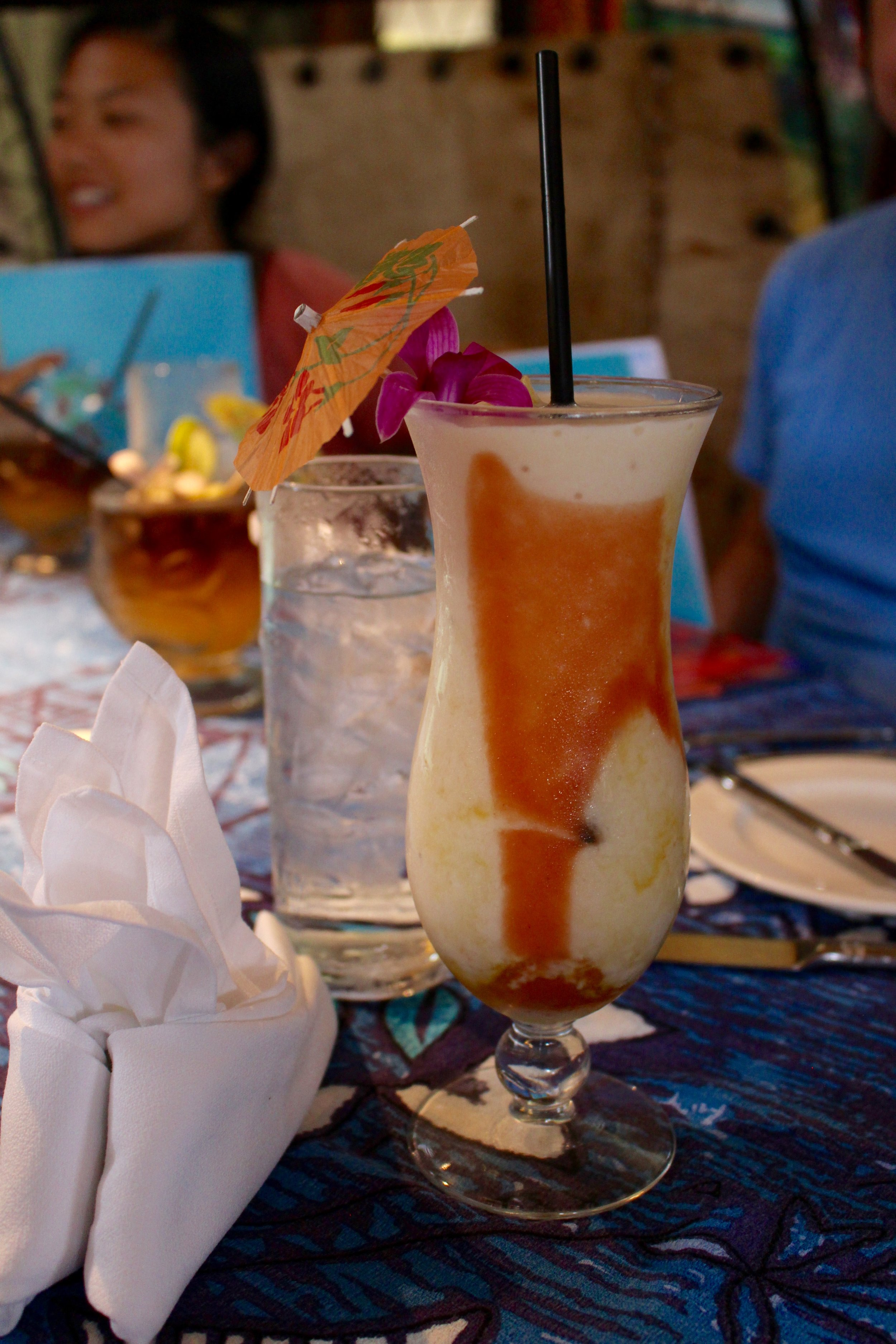This is the Tropical Fruit Colada with extra guava.