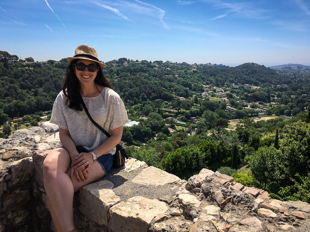 Beautiful views from  Èze, France (May, 2016)
