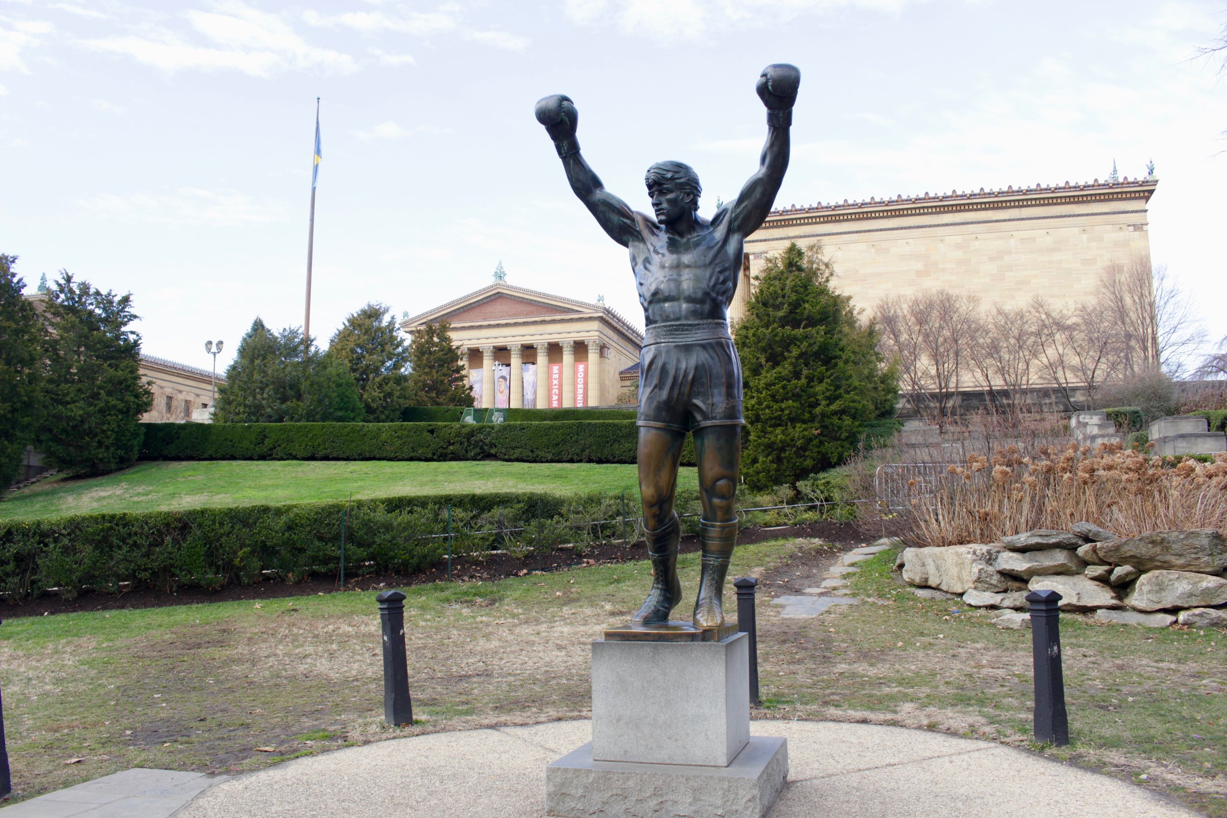 Yes, I'm aware Rocky is a fictional character. I still love the movie though!
