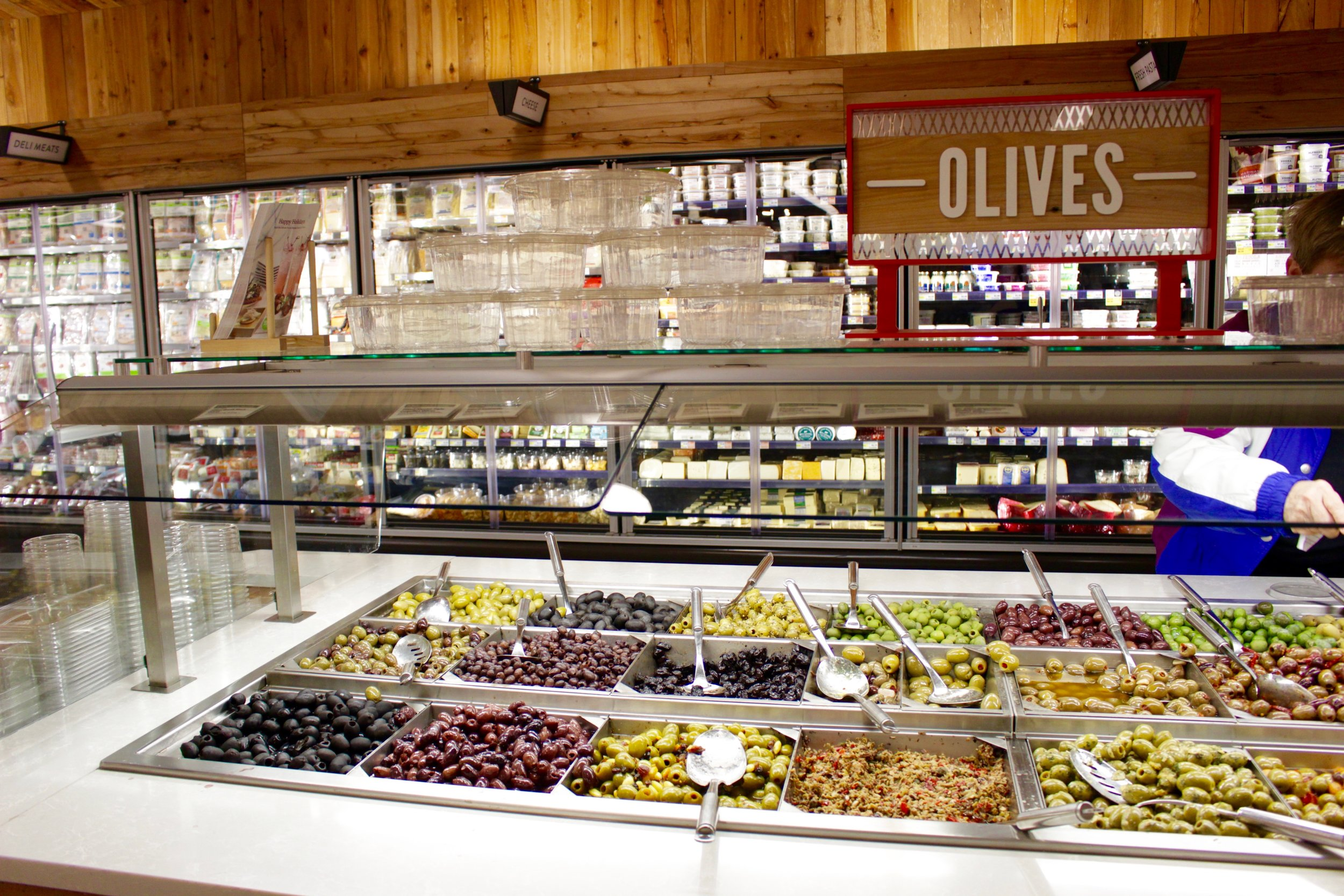 Olives, anyone? Check out the incredible spread they have at Whole Foods.