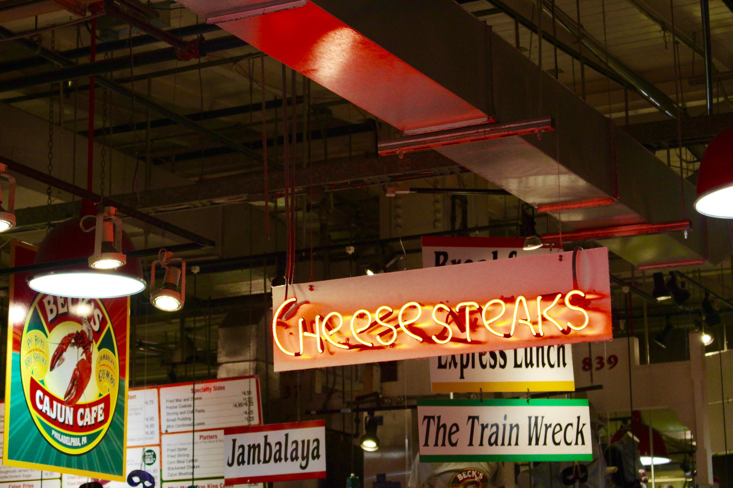 Reading Terminal Market houses all of the food you must eat in Philadelphia.