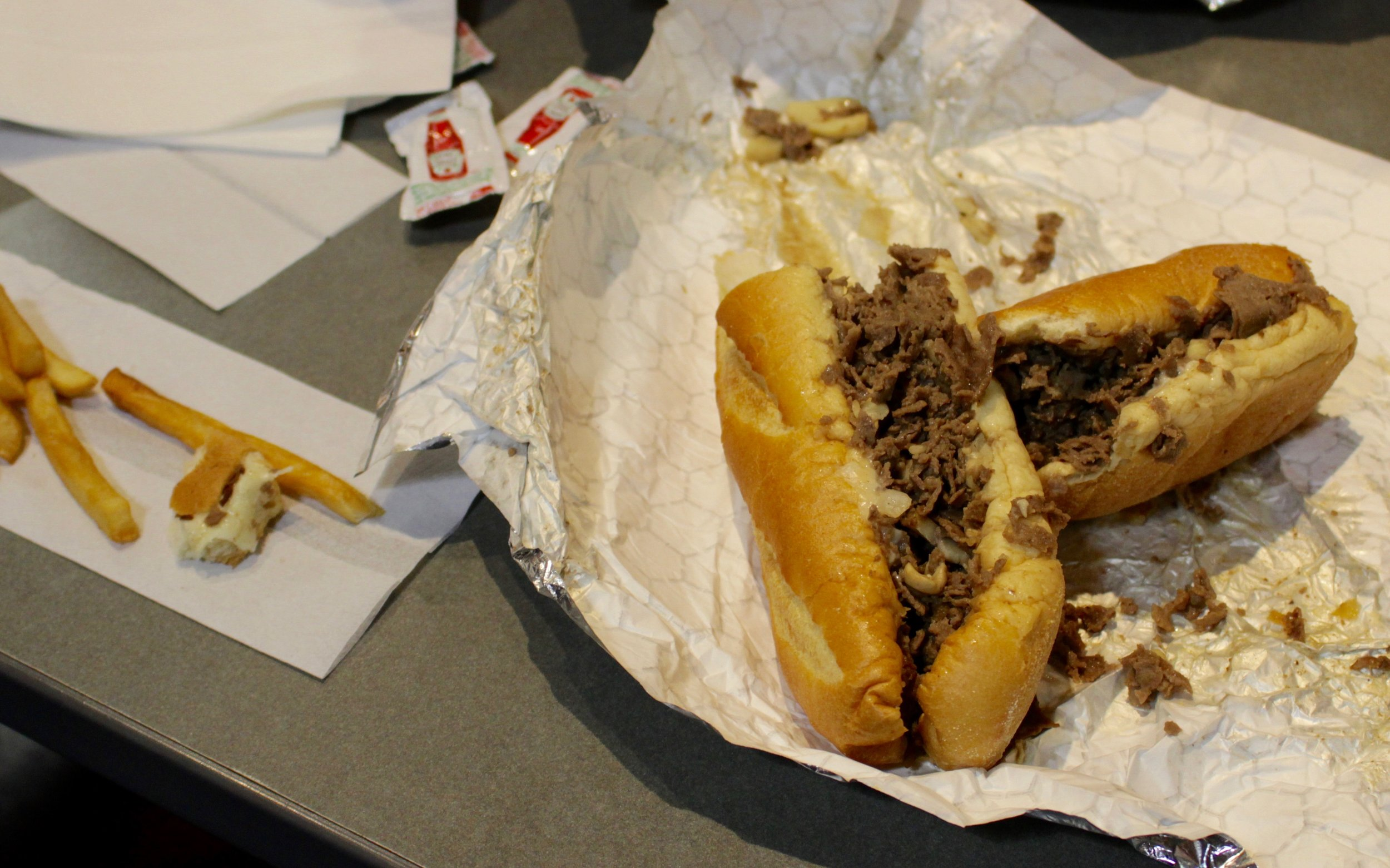 If you think you've eaten a Philadelphia cheesesteak, but you've never been to Philadelphia, you're wrong.