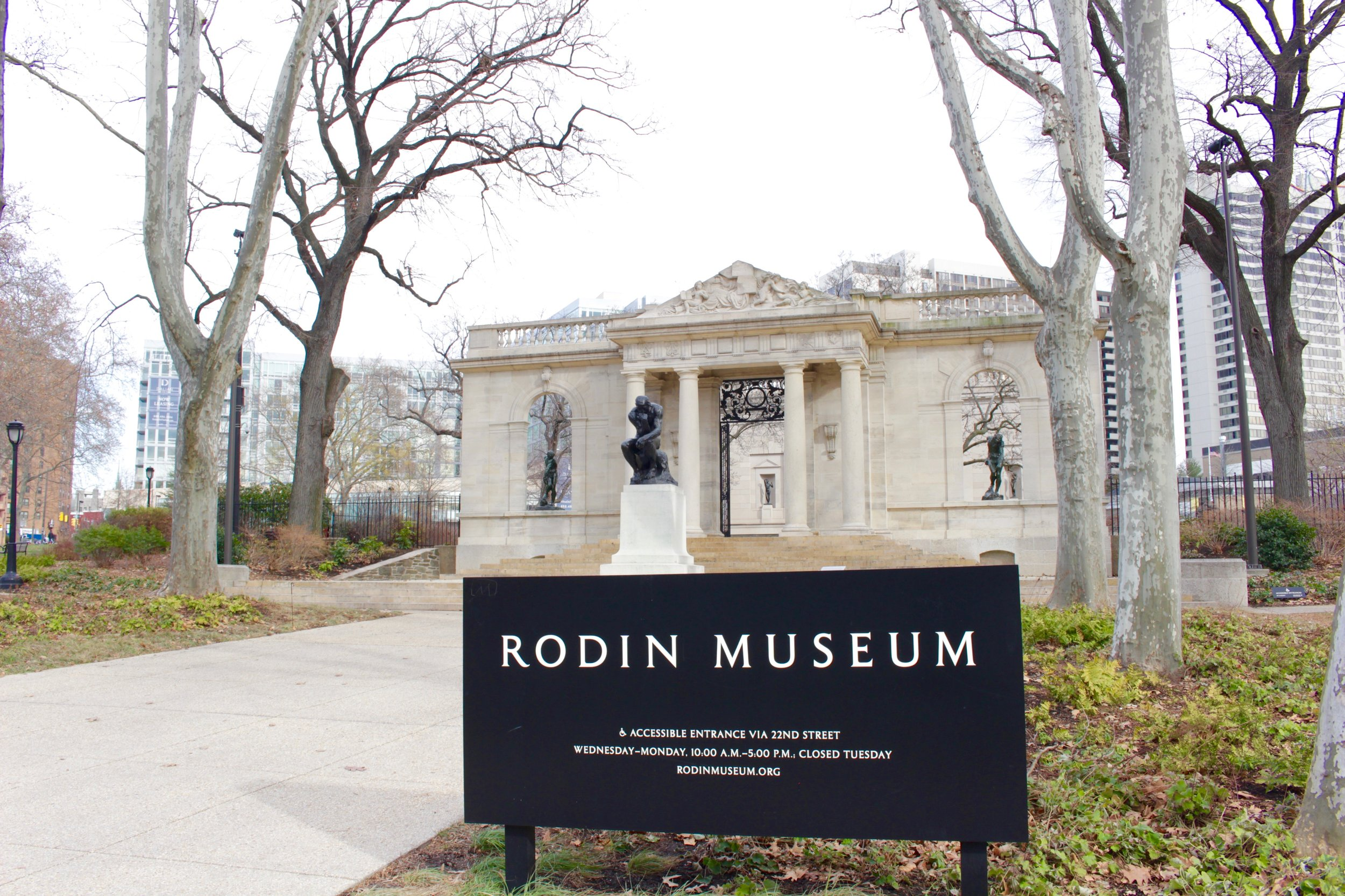 The Rodin Museum in Philadelphia is second to Paris in housing the largest collection of his work.