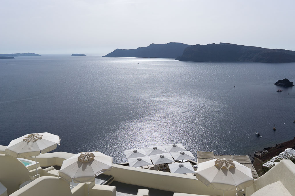 Best view from Canaves Oia Santorini, Greece (October,2016)