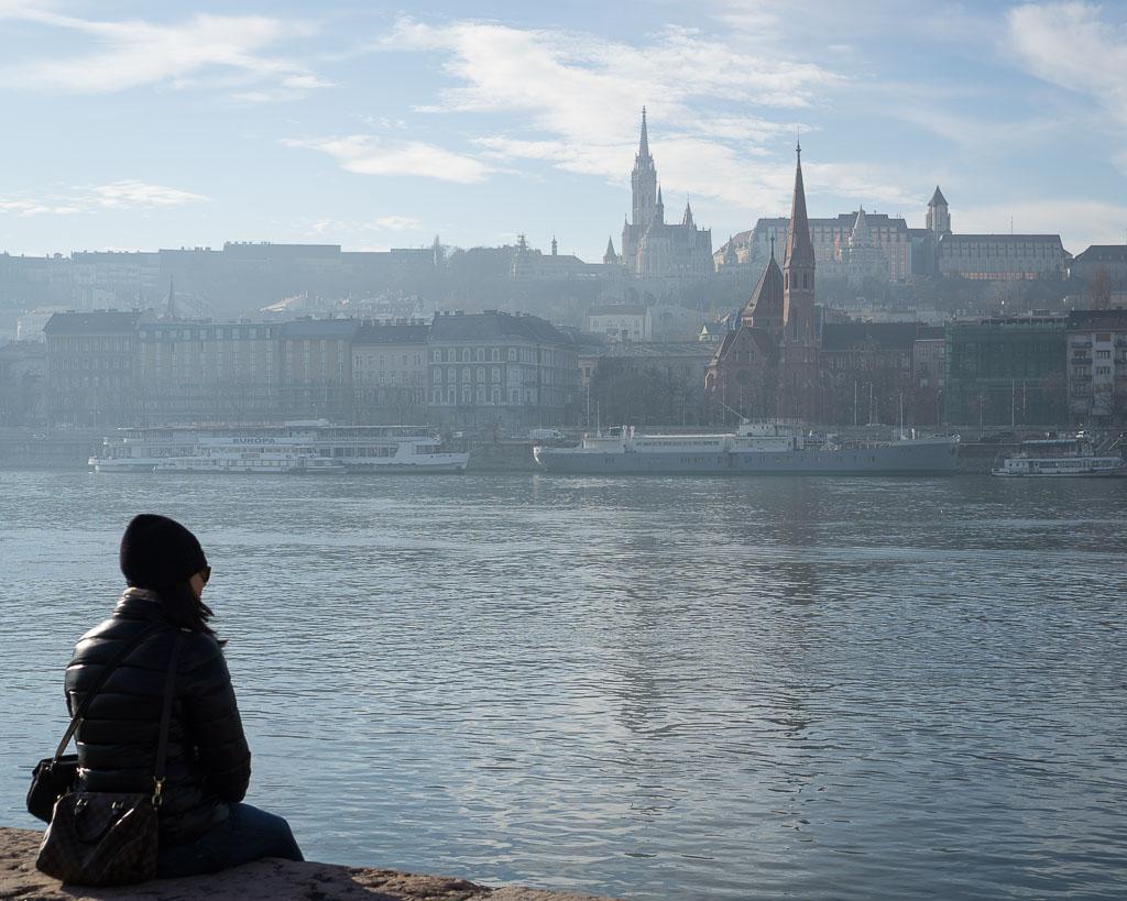 Danube River, Budapest (December, 2016)