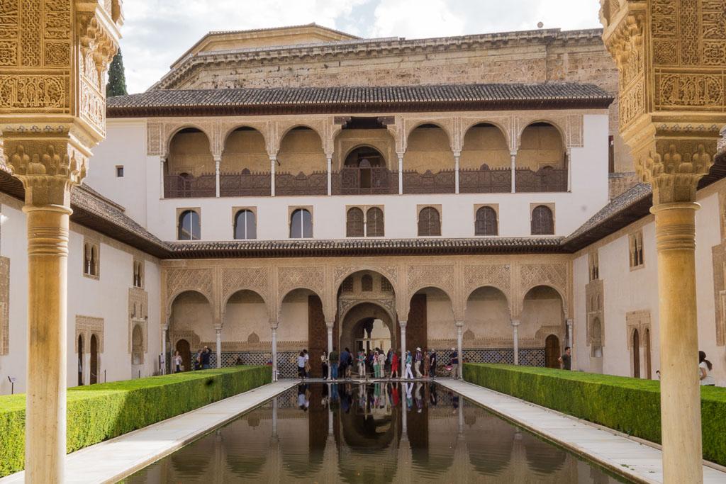 Alhambra in Granada, Spain (November, 2016)