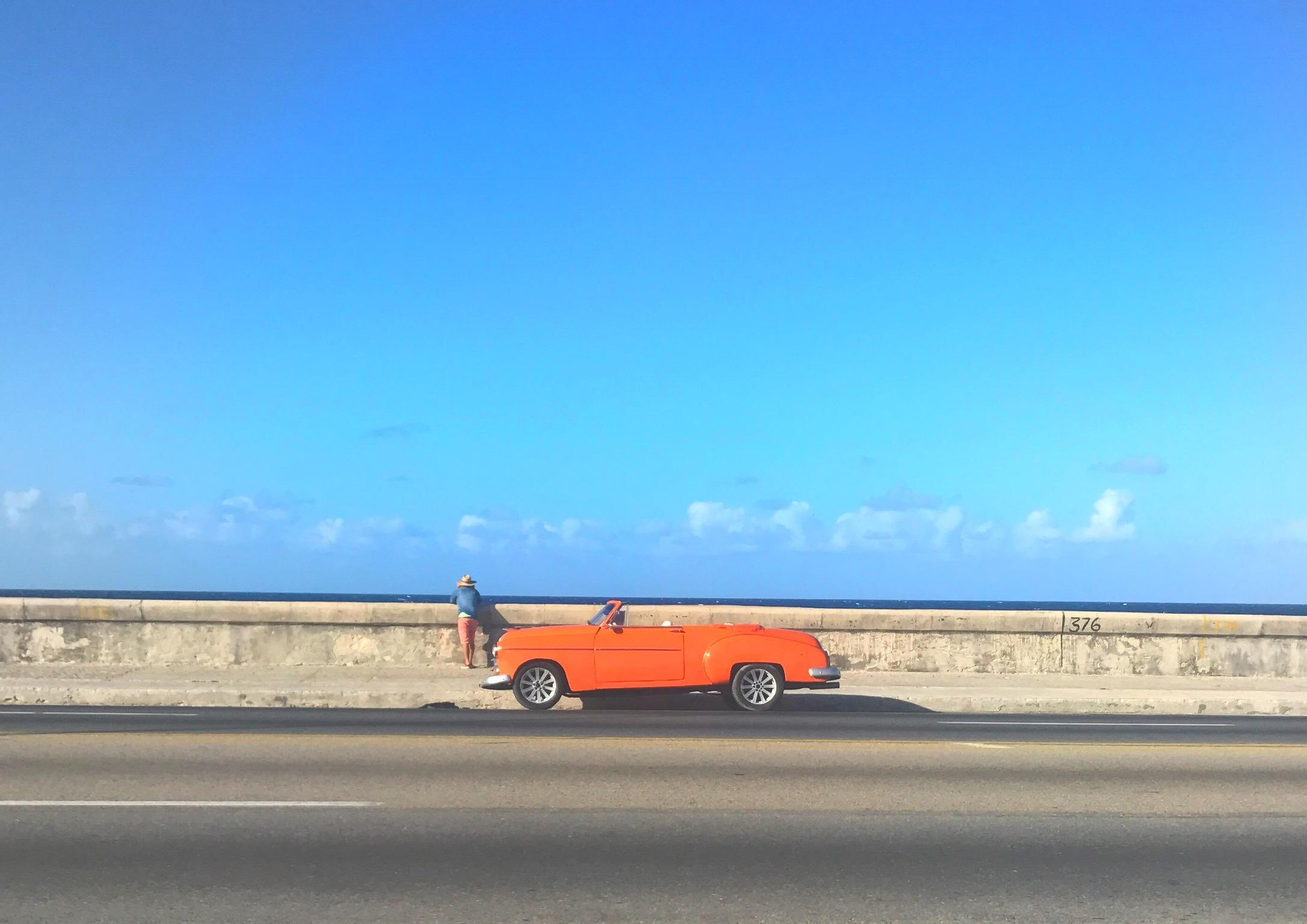 The Malecón. Havana, Cuba