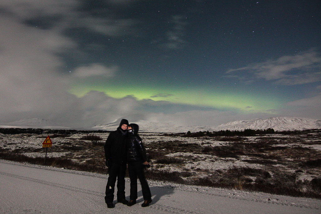 The Northern Lights with  Happyworld !