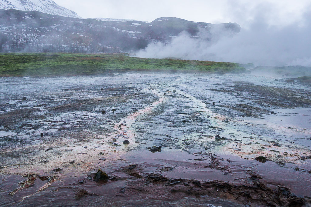 The geothermal field.