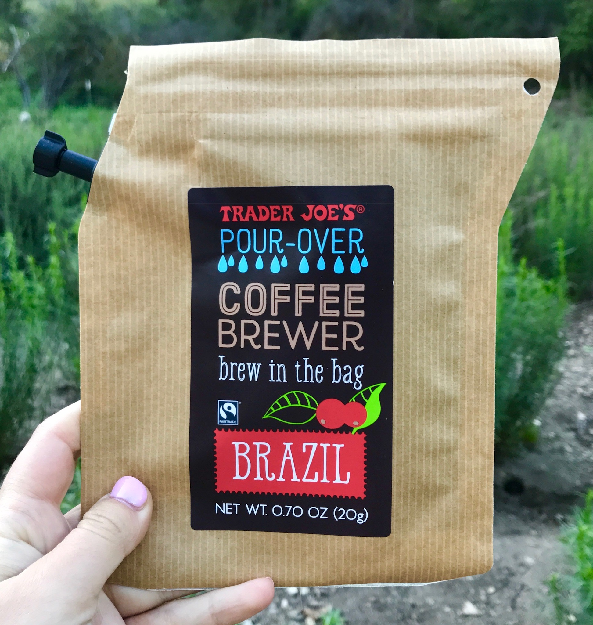 Say goodbye to instant coffee on camping trips. This brew bag saved my life! Surprisingly, this post is not sponsored by Trader Joe's :).