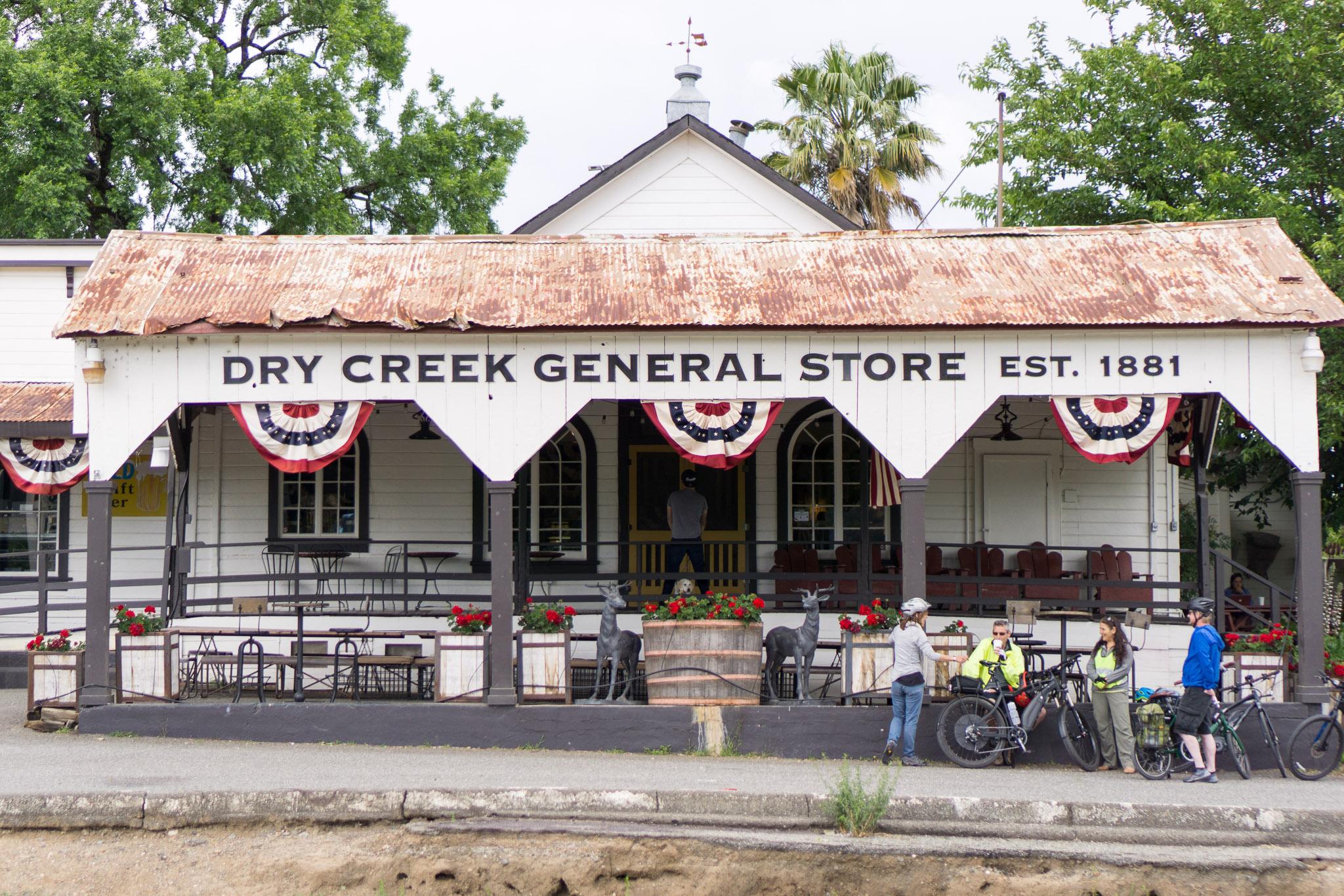 The Dry Creek General Store in Healdsburg.