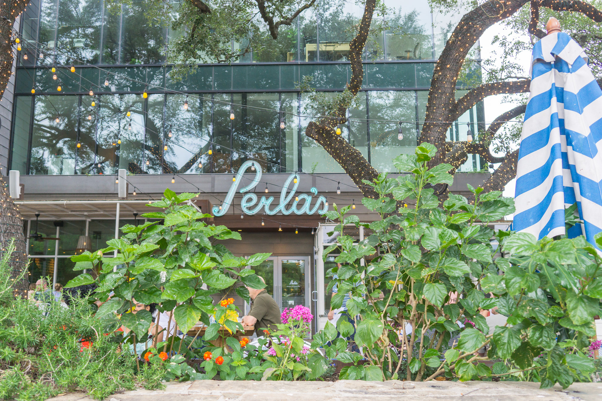 Perla's for great seafood on South Congress.
