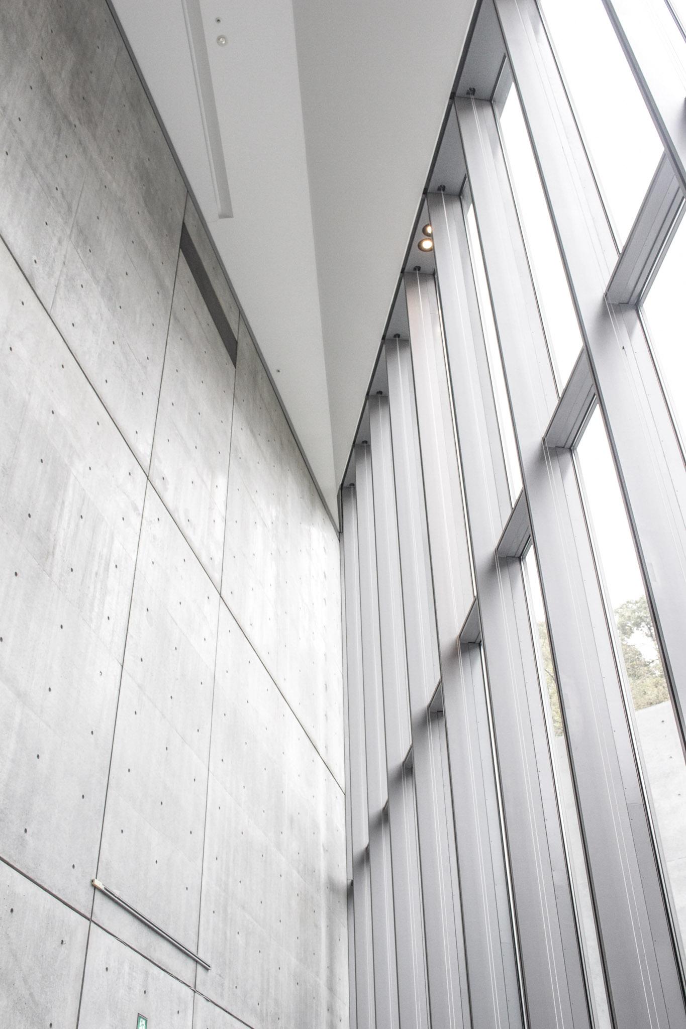 Inside the 21_21 Design Sight Building