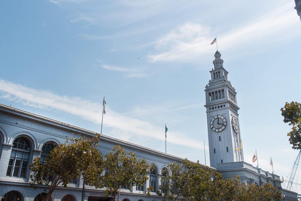 San Francisco's Ferry Building was built in 1898.