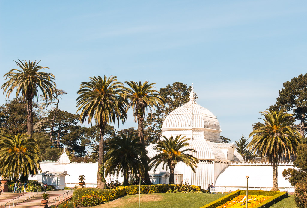 Golden Gate Park's  Conservatory of Flowers .