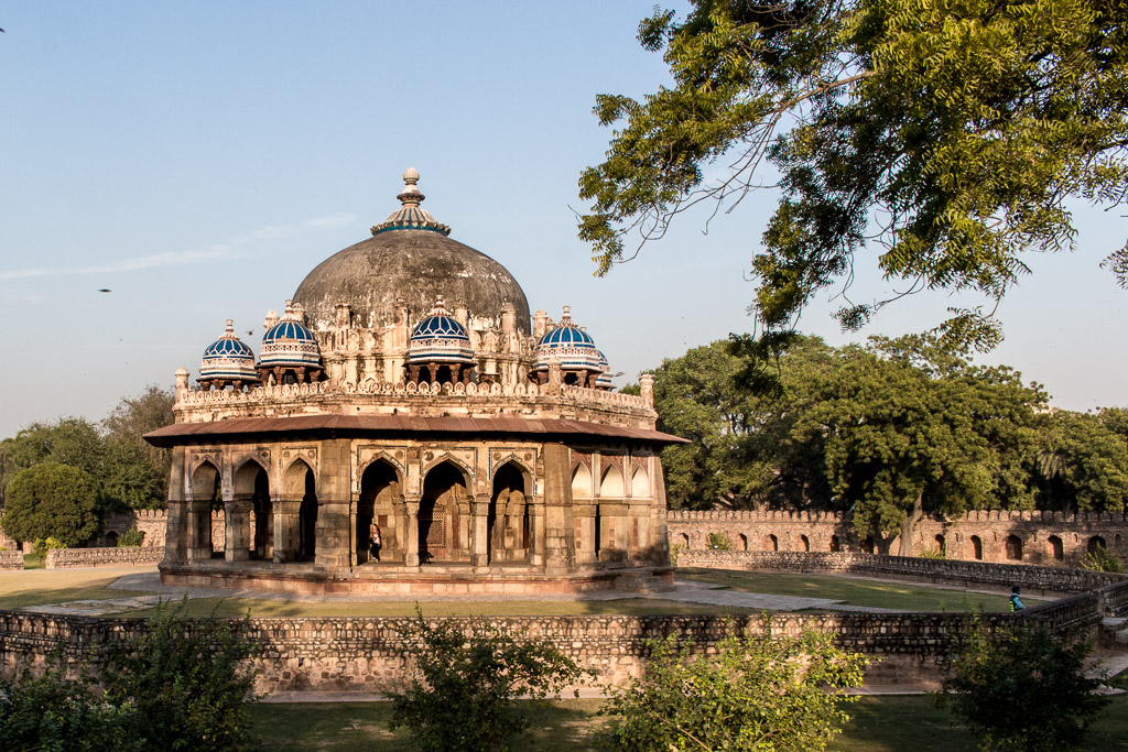 This is the tomb of Isa Khan. It's your first right when you enter the complex of Humayun's Tomb.