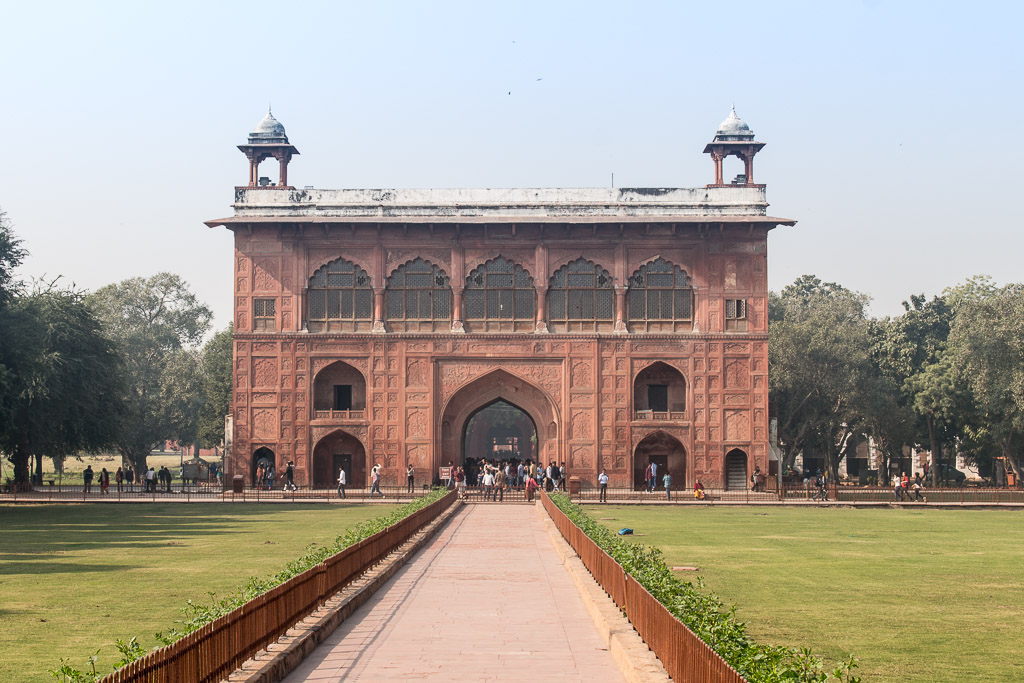More of the Red Fort complex.