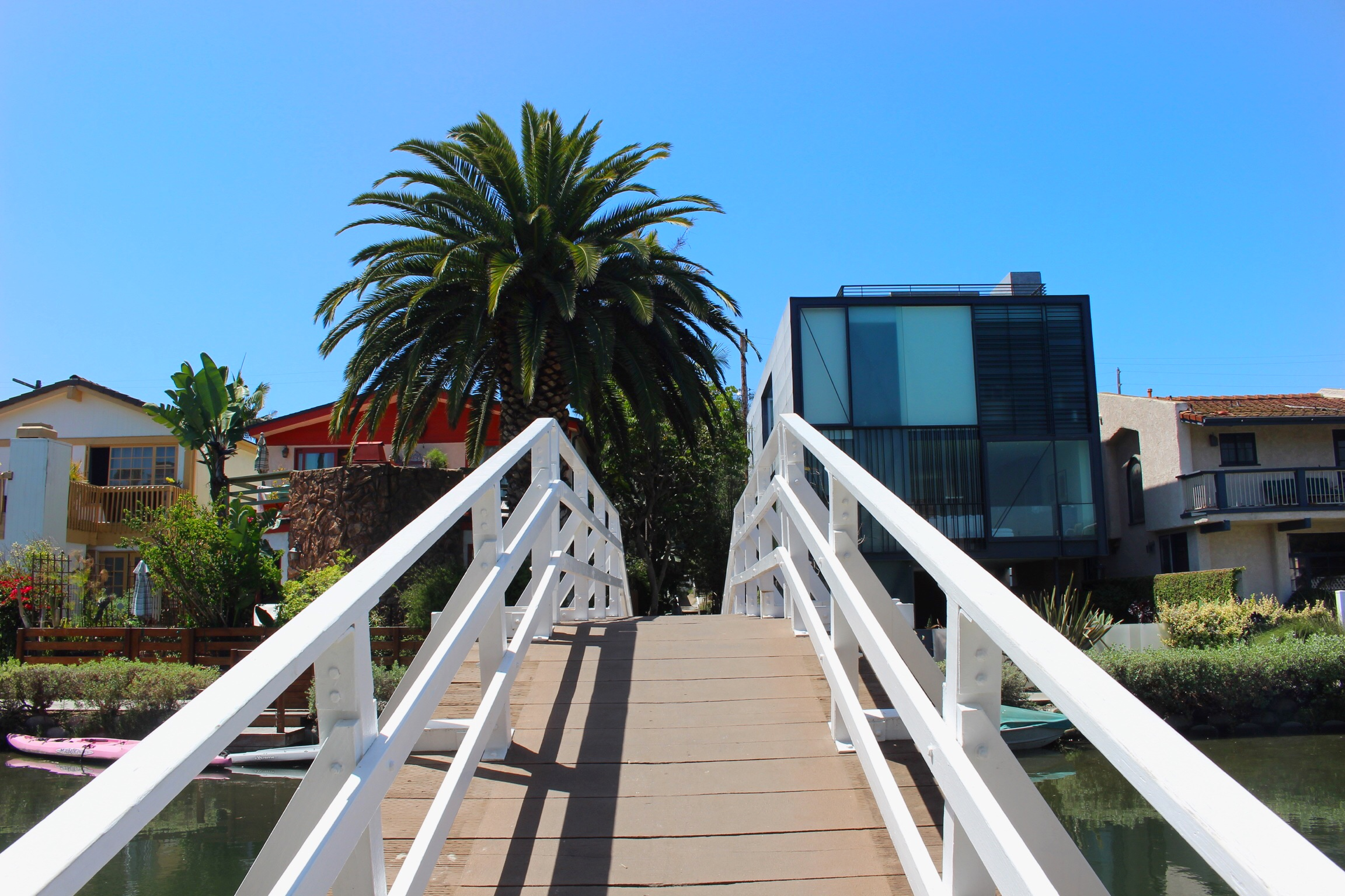 My first time in Venice, California!