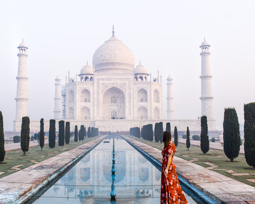 Watching the sunrise at the Taj Mahal on Christmas morning was an experience I will never forget.