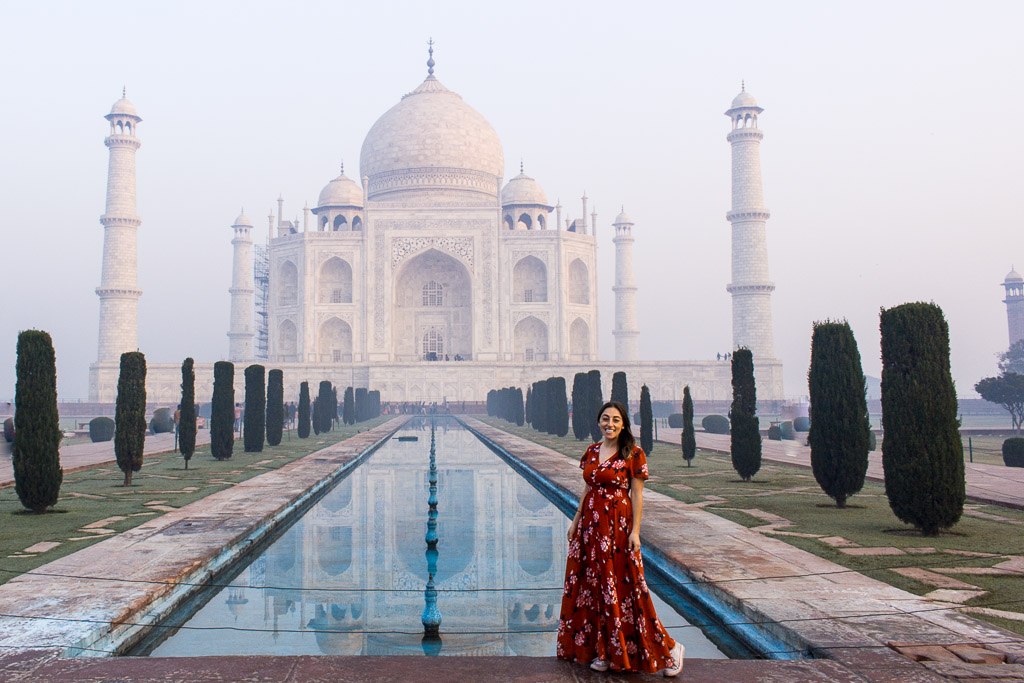 Get to the Taj Mahal early to avoid the crowds.