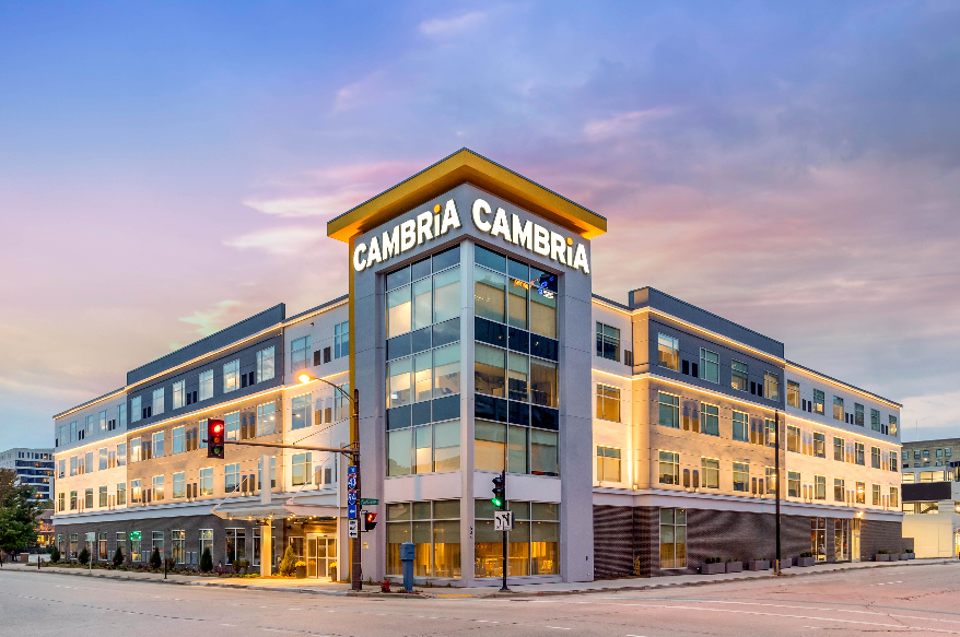 Cambria Hotel & Suites - Milwaukee, WI Developed by MDG, Asset Management by MAM
