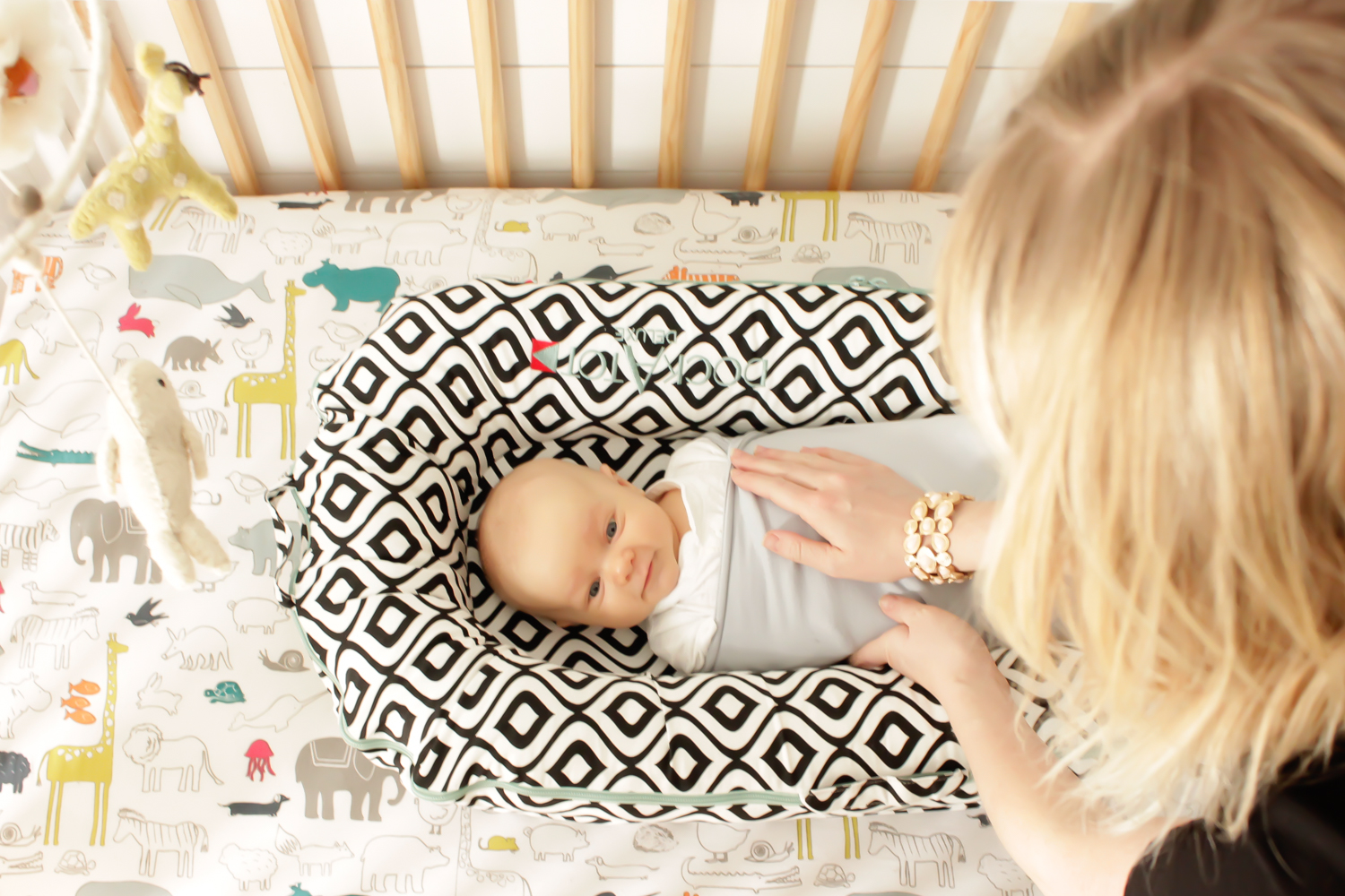 Dock A Tot + Ollie Swaddle