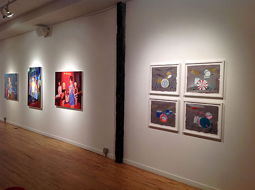 Girl Bands:  2014 Packer Schopf Gallery Chicago, IL