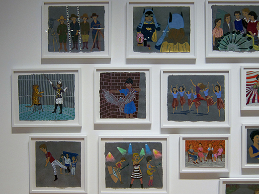 The Ladies: 26 works on paper,  2013 Wisconsin Triennial Madison, Museum of Contemporary Art