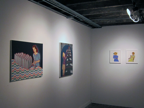 The Ladies:   2012 Packer Schopf Gallery Chicago, IL